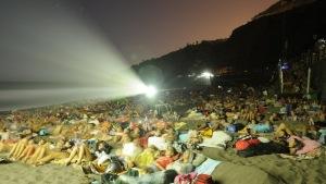 170813 Ciclo de cine al aire libre playa El Socorro 2